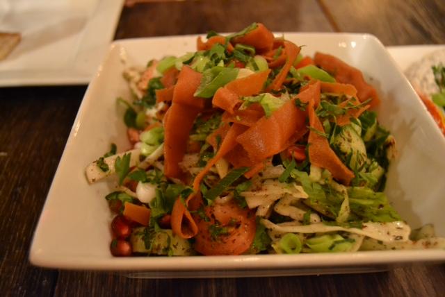 Fatouche (crispy crunchy salad)