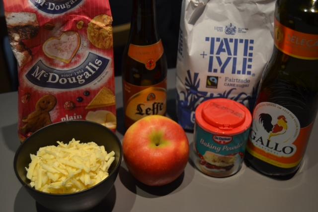 apple cheese bread ingredients