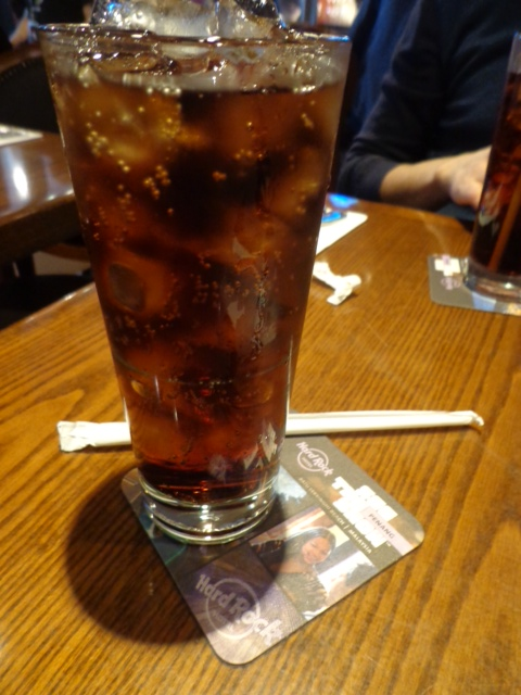 hard rock cafe pepsi