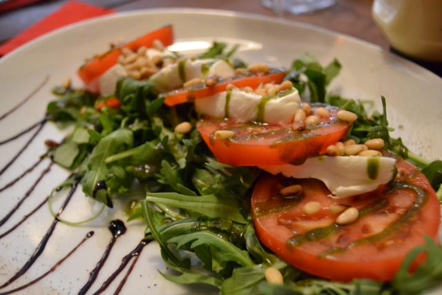 loft caprese salad