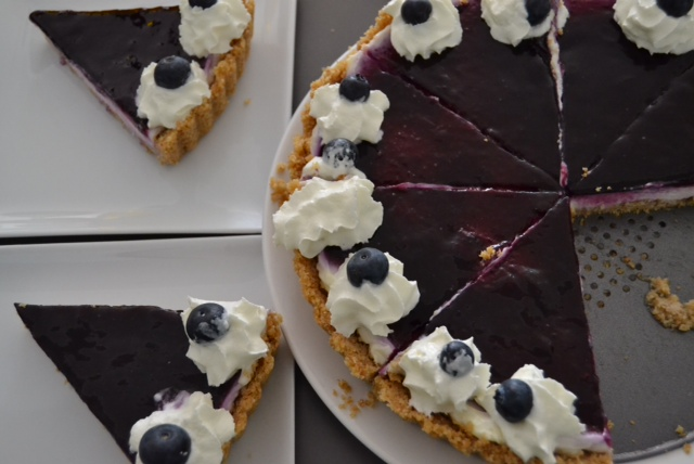 blueberry cheesecake 2