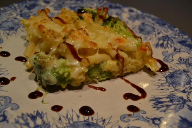 broccoli pasta fritatta 1