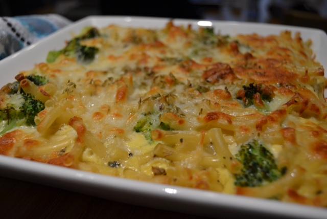 broccoli pasta fritatta 2