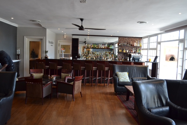 gorgeous bar area