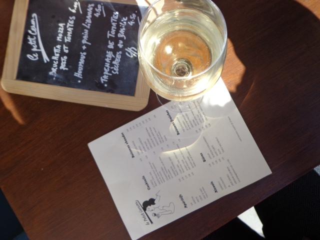 le petit canon wine and menu