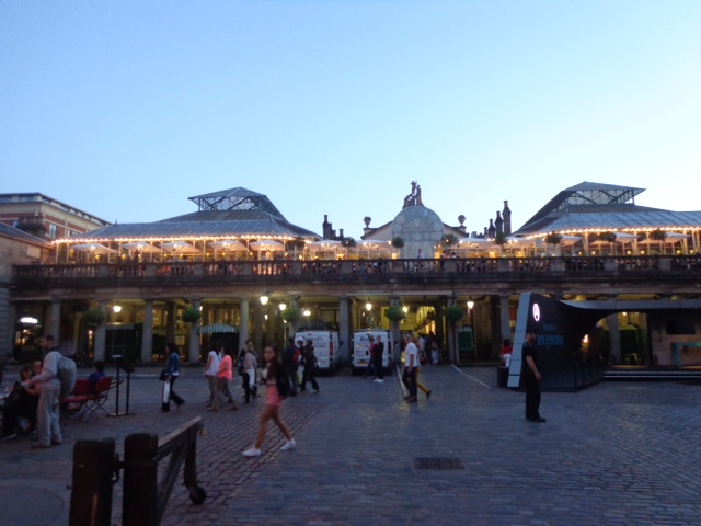 Covent Garden Market in the evening