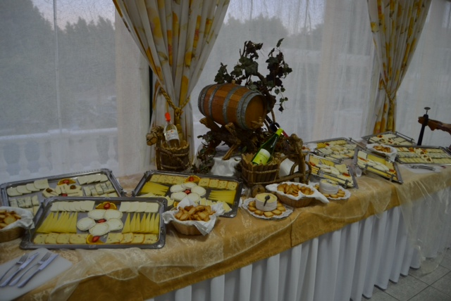 Portuguese celebration cheese buffet