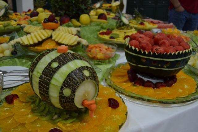 Portuguese celebration fruit buffet 2