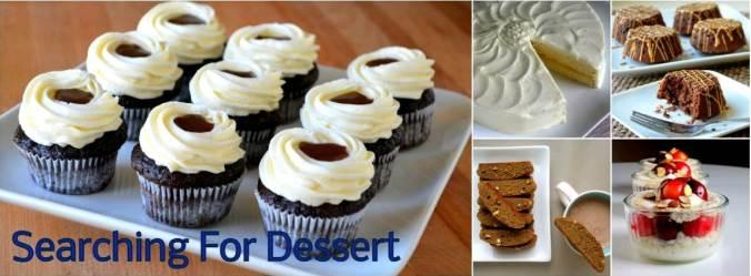 searching for dessert header