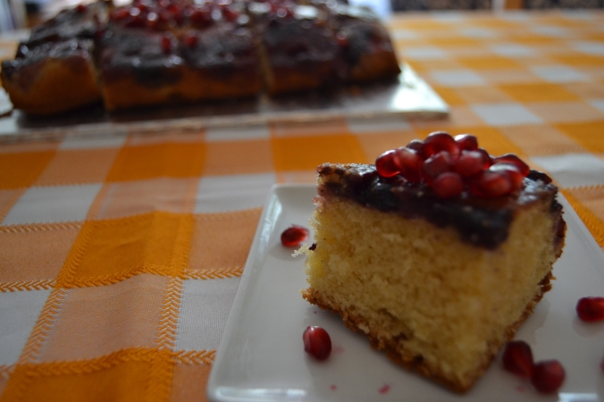 upside down berry cake 3