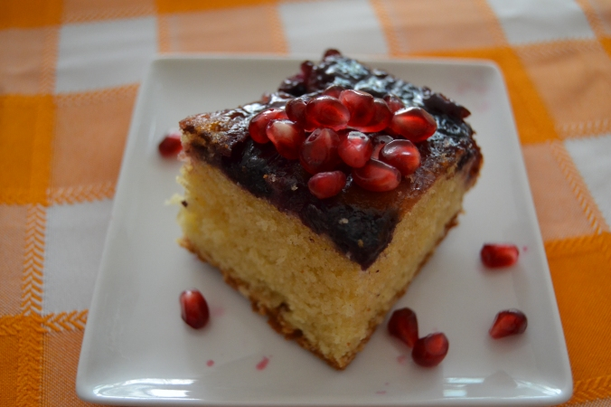 upside down berry cake 4