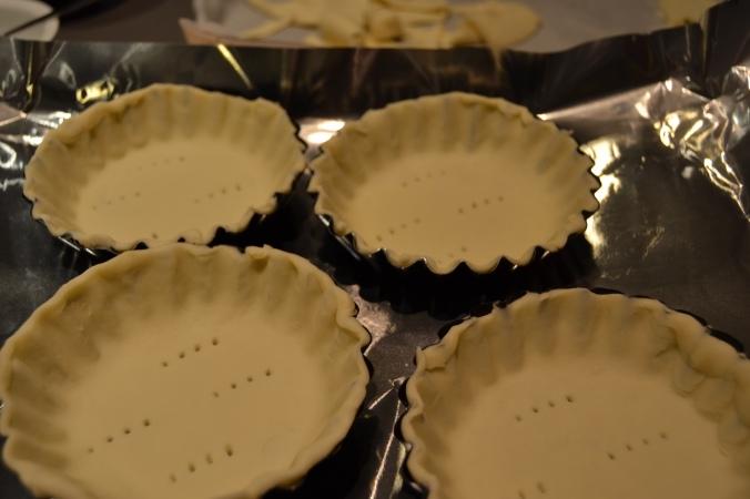 caramel tarts bases