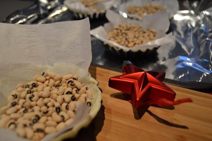 caramel tarts blind bake