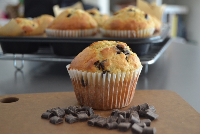 choc chip muffins 4