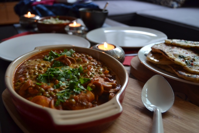 Final Tandoori Mushroom curry