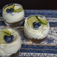 Mini Key Lime Mousse Pies (SRC)