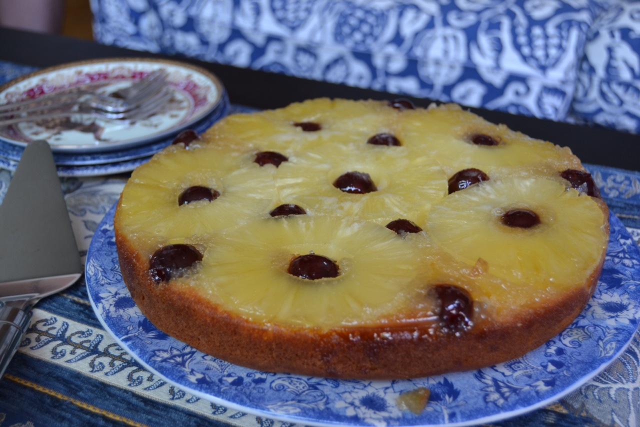 Cake Images Down : Pineapple upside-down cake whyiamnotskinny