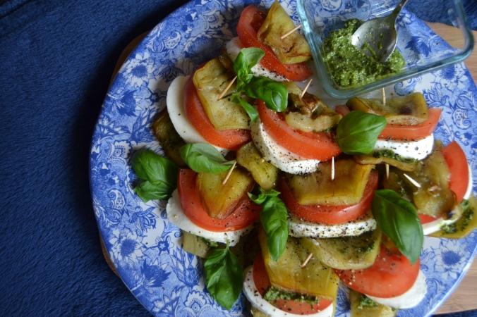 aubergine caprese 1