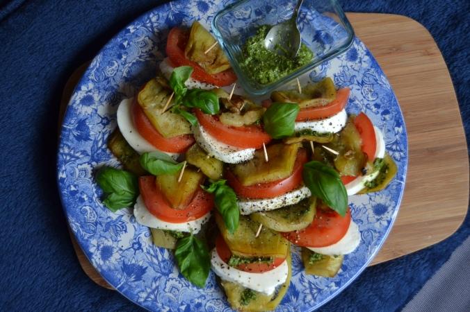 aubergine caprese 3