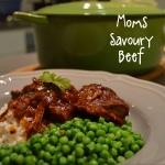 savoury beef 1