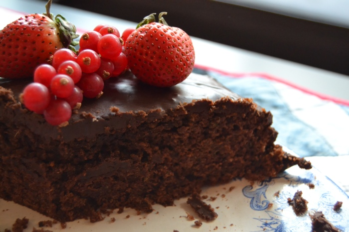 chocolate courgette cake 2