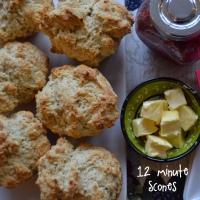 12 minute scones