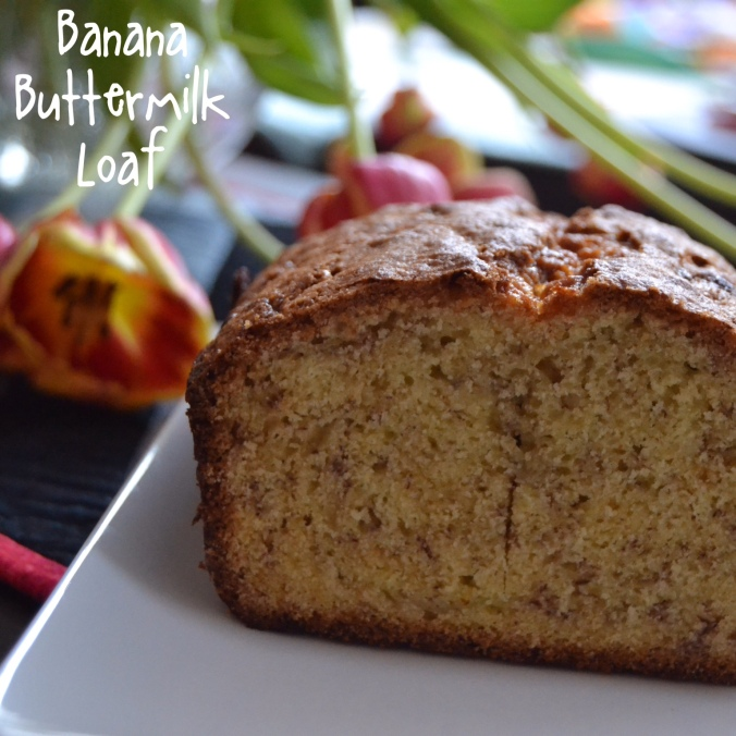 buttermilk banana loaf 1