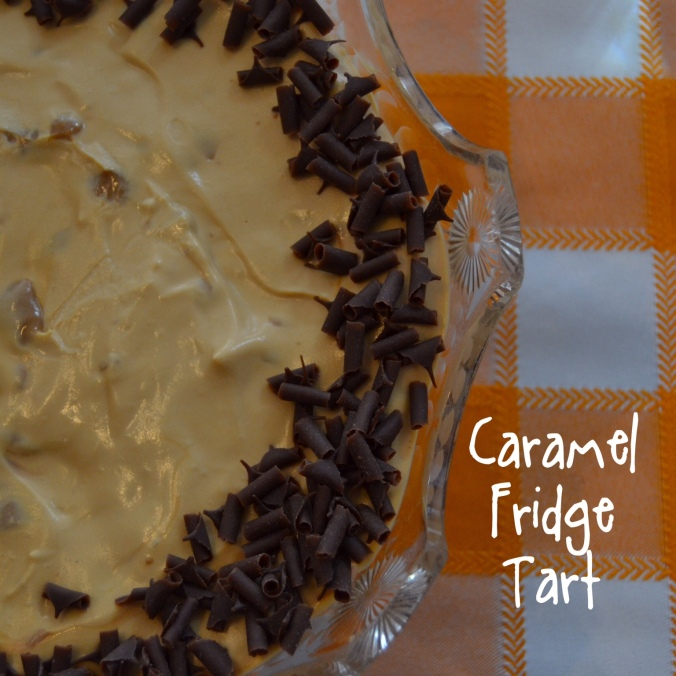caramel fridge tart 1