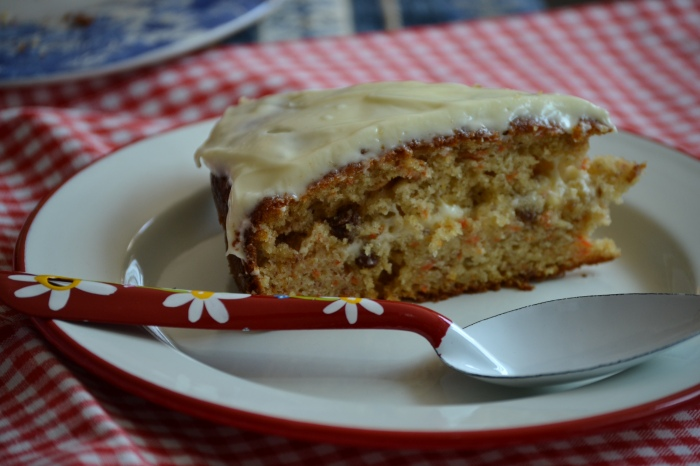 carrot and banana cake 2