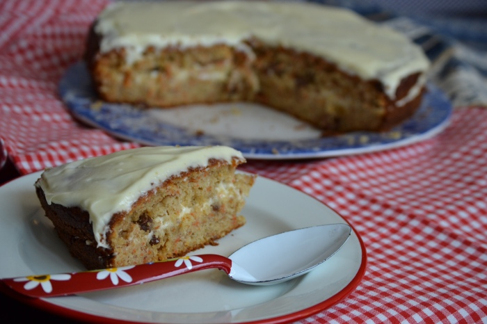 carrot and banana cake 3