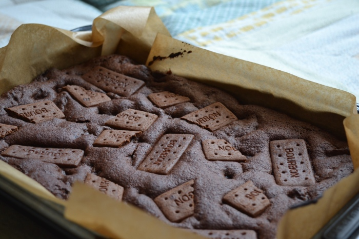 bourbon biscuit brownies 2