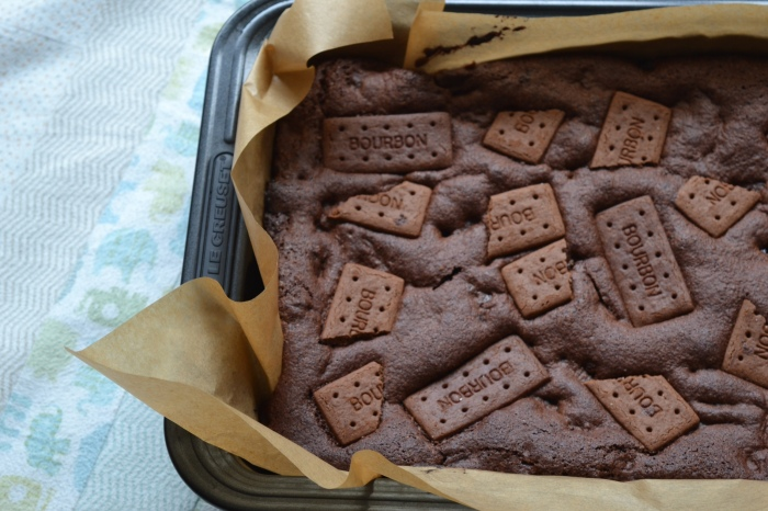 bourbon biscuit brownies 3