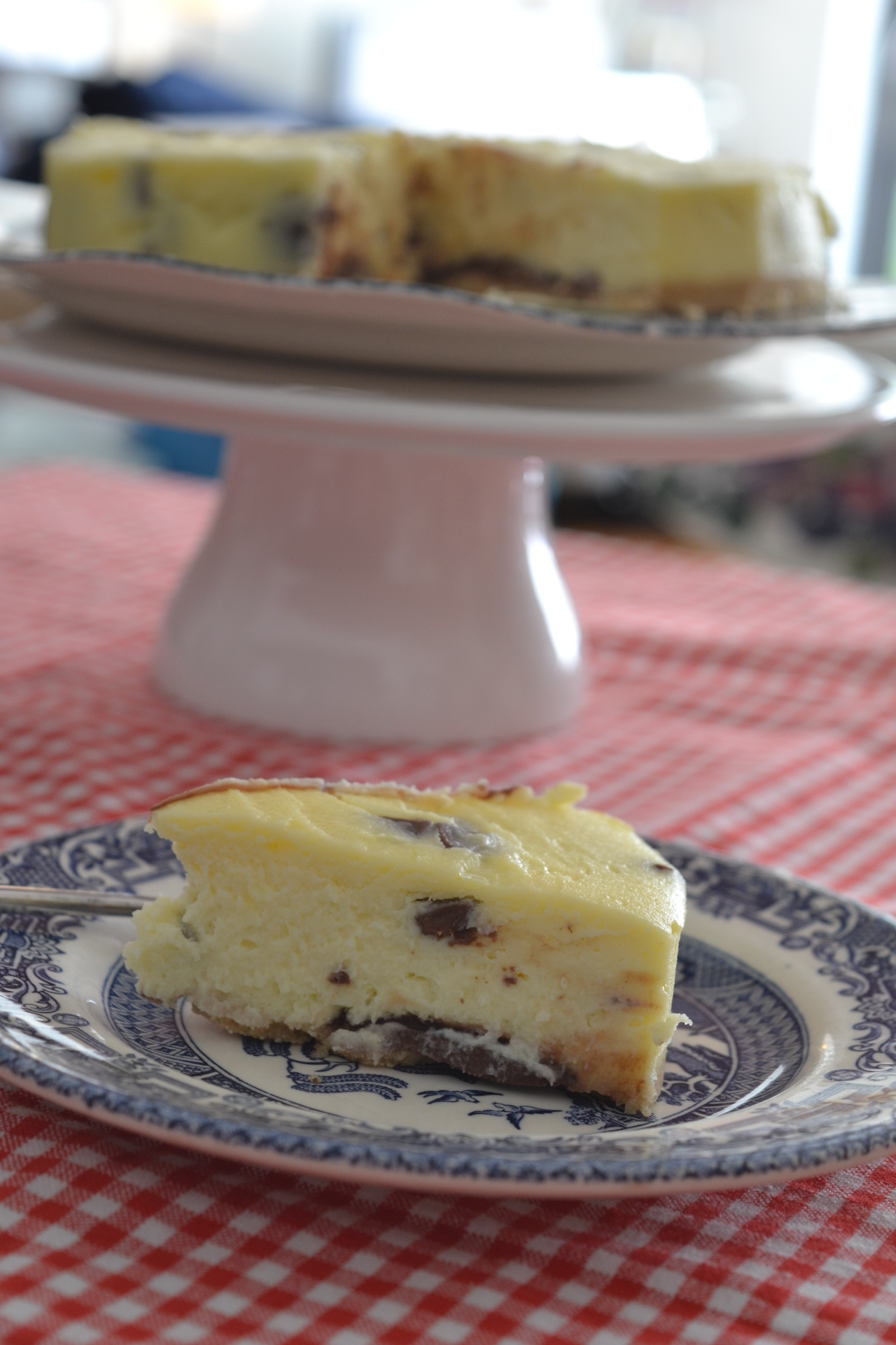Chocolate Chip Cheesecake With Dr Oetker Whyiamnotskinny