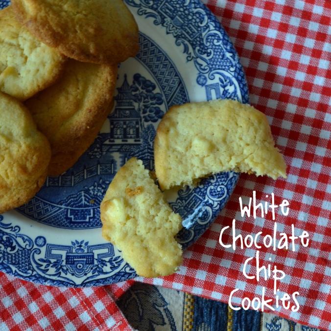 white choc chip cookies 3