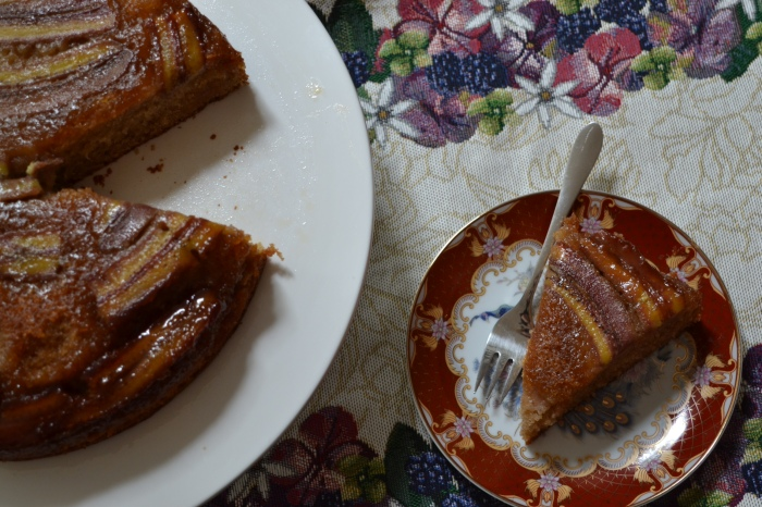 banana upside down cake 2